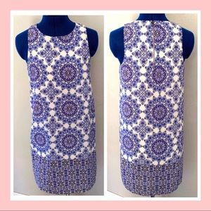🆕 Anthropologie Everly Mosaic Shift Dress / S
